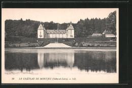 CPA Montjeu, Le Château - Non Classés