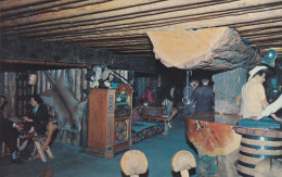 Dining Room, Log Bar, Jukebox, FRONTIER TOWN, Montana, 40-60´s - Non Classificati