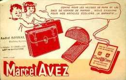 Buvard maroquinerie Marcel Avez