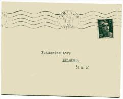 SEINE De LES LILAS Env. Du 23/08/1945 Avec GANDON N°713 - Marcophilie (Lettres)