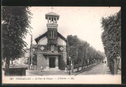 CPA Versailles, Le Parc De Clagny - L'Entrée - Versailles