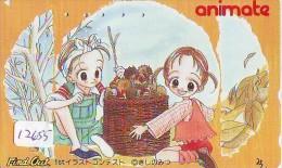 MANGA Télécarte Japon * Cinéma *  * ANIMATE * Animé (12.655) TELEFONKARTE * MOVIE * PHONECARD JAPAN - Kino
