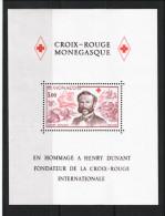 MONACO  Timbres Neufs Sans Charnière N° Yvert  BF 15  Henri Dunant - Blocs
