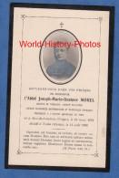 Carte Ancienne De Décés - Abbé Moral - Né à BAN De LAVELINE , Décédé à TOULA ( Russie ) - Institut Catholique De Paris - Décès