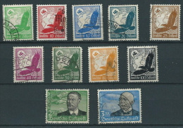 ALEMANIA YVERT Nº AV. 43/53 USADO - Airmail