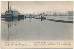 JOUE LES TOURS  - Crue Du Cher 1910 - Saint Sauveur - Frankrijk