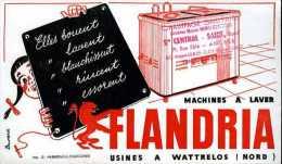 Buvard machines � laver Flandria (Wattrelos - 59)