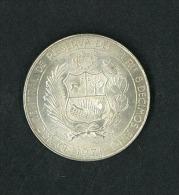 Numismatica: PERU' 1971 Peru 50 Cincuenta Soles De Oro Foreign Coin - Perú