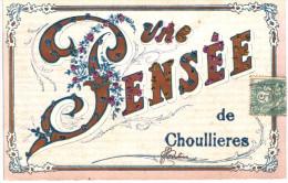 UNE PENSEE DE CHOULLIERES ... HAMEAU DE POLIGNY - France