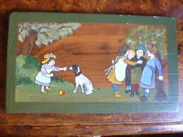 TABLEAU POUR CHAMBRE ENFANTS, Peint Main - Acrilici