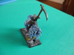 Figurine En Plomb : Warharmmer Squelette à Cheval Echelle 30 Mm Figurine Peinte - Warhammer