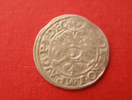 STRASBOURG  JEAN DE MANDERSCHIED  .3 KREUZERS De 1584 .....  ALSACE.......... - 476-1789 Lehnsperiode