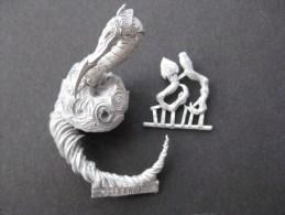 Figurine En Plomb : Warharmmer Monstre Serpent Echelle 30 Mm & - Warhammer