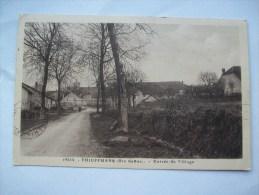 Ma Réf: 76-4-15.          THIEFFRANS     Entrée Du Village. - Otros Municipios