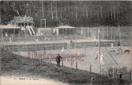 76 - YPORT - Le Tennis - écrite 1931 -  2 Scans - Yport