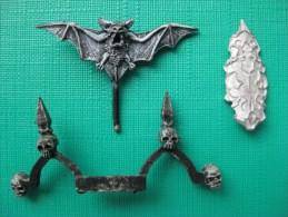 Figurines En Plomb: Warharmmer  Accessoires Squelette Echelle 30 Mm & - Warhammer