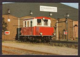 Erste Museums - Eisenbahn Deutschlands , Akku - Triebwagen T 46 Am 2.8.1987 In Bruchhausen - Vilsen - Eisenbahnen