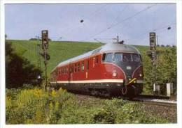 Diesel - Schnelltriebzug 612 507-4 + 506-6 Der Deutschen Bundesbahn , Früher VT 12 507 + 506 , Als Sonderzug - Eisenbahnen