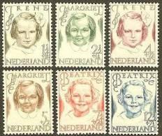 NEDERLAND 1946 MNH Zegel(s) Prinsessen 462-467 #659 - Period 1891-1948 (Wilhelmina)