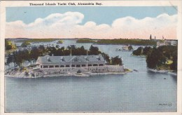 Thousand Islands Yacht Club Alexandria Bay New York City New Yor