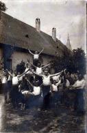 HRVATSKA - TURNERGRUPPE - Kroatischer Sportverein, Turnerverein, Orig.Fotokarte Gel.1909 - Gymnastik