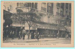CPA - Montreuil (93) - 953. Carrefour De La Croix De Chavaux - Montreuil