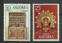 ANDORRA-  ESTOS SELLOS O UNOS MUY SIMILARES SIN FIJASELLOS +++ C. M.A. Nº 83/84 - Andorra Española