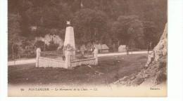 CPA-25-PONTARLIER-LE MONUMENT DE LA CLUSE-LL-SELECTA- - Pontarlier