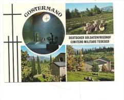 M1638 Veneto COSTERMANO Verona Cimitero Militare Tedesco Non Viaggiata - Other Cities