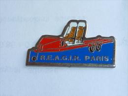Pin's ENTRAIDE SOCIALE R.E.A.G.I.R. PARIS