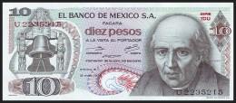 MEXICO. 10 Pesos - 15.05.1975. 1DU / U. Pick 63h. UNC - Messico
