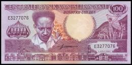 SURINAME. 100 Gulden - 01.07.1986. Pick 133a. UNC - Surinam