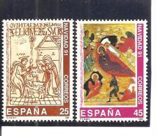 España/Spain-(MNH/**) - Edifil  3142-43 - Yvert  2751-52 - 1931-Hoy: 2ª República - ... Juan Carlos I