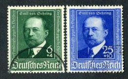 10007A  Reich 1940 ~ Michel #760-61  ( Cat.€6. ) - Offers Welcome. - Deutschland