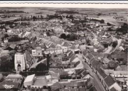 62 AVESNES Le COMTE  CPSM PHOTO Aérienne Maisons Du VILLAGE EGLISE à Travers CHAMPS 1963 - Avesnes Le Comte