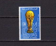 Morocco 1974 Football Soccer World Cup Stamp MNH - 1974 – Allemagne Fédérale