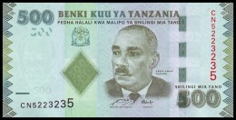 TANZANIA. 500 Shillings - 2011. Pick 40. UNC - Tansania