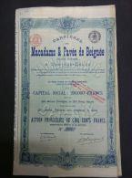 Carrières Macadams & Pavés De Beignée - Actions & Titres