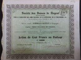 SOCIETE DES USINES DE NOGENT - Actions & Titres