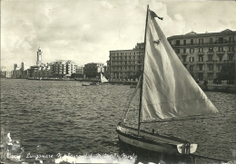 BARI  Lungomare Nazario Sauro Dal Molo San Nicola  Vela Enza - Bari