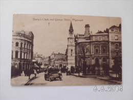 Plymouth. - Derry´s Clock And George Street. (28 - 5 - 1935 ?) - Plymouth