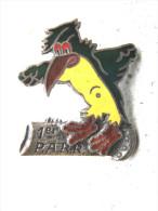 PEU COURANT INSIGNE EMAILLE ARMEE DE L�AIR P.A.R.R PELOTON AVION DE RESERVE REGIONAL ETAT EXCELLENT DRAGO PARIS