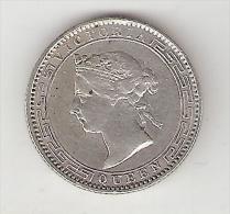 * Ceylon 25 Cents 1899  Km  95    Vf+!!!! - Sri Lanka