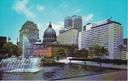 PC Montreal - As Seen From Place Du Canada (5550) - Montreal
