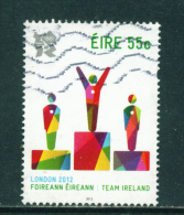 IRELAND  -  2012  Olympic Games  55c  Used As Scan - 1949-... Republic Of Ireland