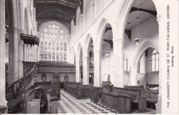 PC Oxford - Church Of St. Mary-the-Virgin - Looking West - 1974 (5552) - Oxford