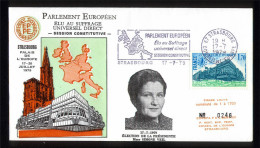 FDC - Strasbourg - Constitution Parlement Européen - Conseil De L' Europe - WEIL - FDC