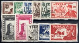 -Fezzan 43/53** - Unused Stamps