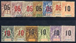 -Gabon   66/78* - Gabon (1886-1936)