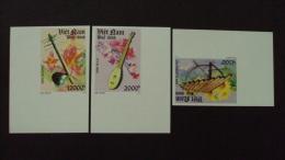 Vietnam Viet Nam MNH Imperf Stamps 2013 : National Musical Instruments / Music (Ms1037) - Vietnam